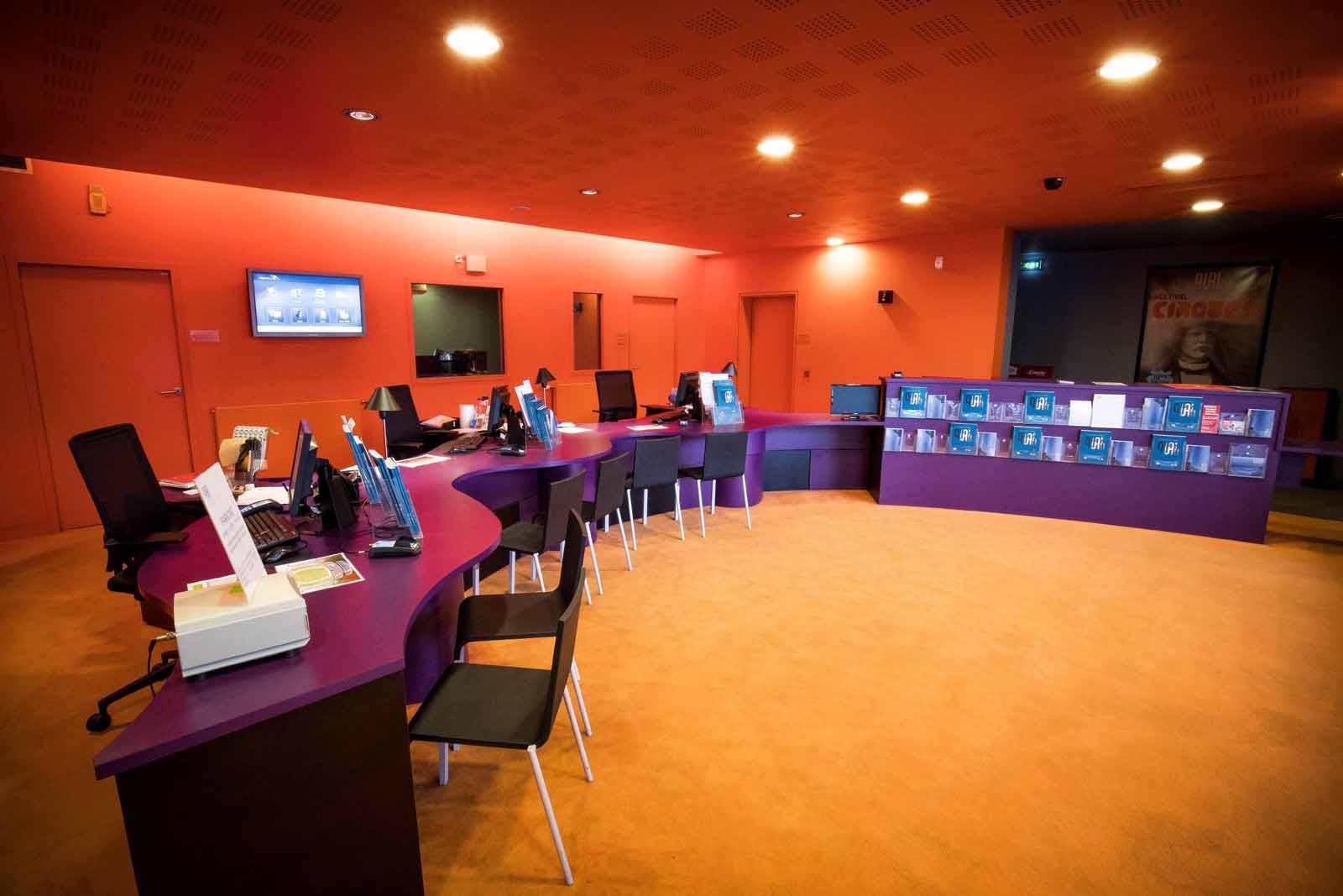 Banque d'accueil du Théâtre le Quai - Maine et Loire