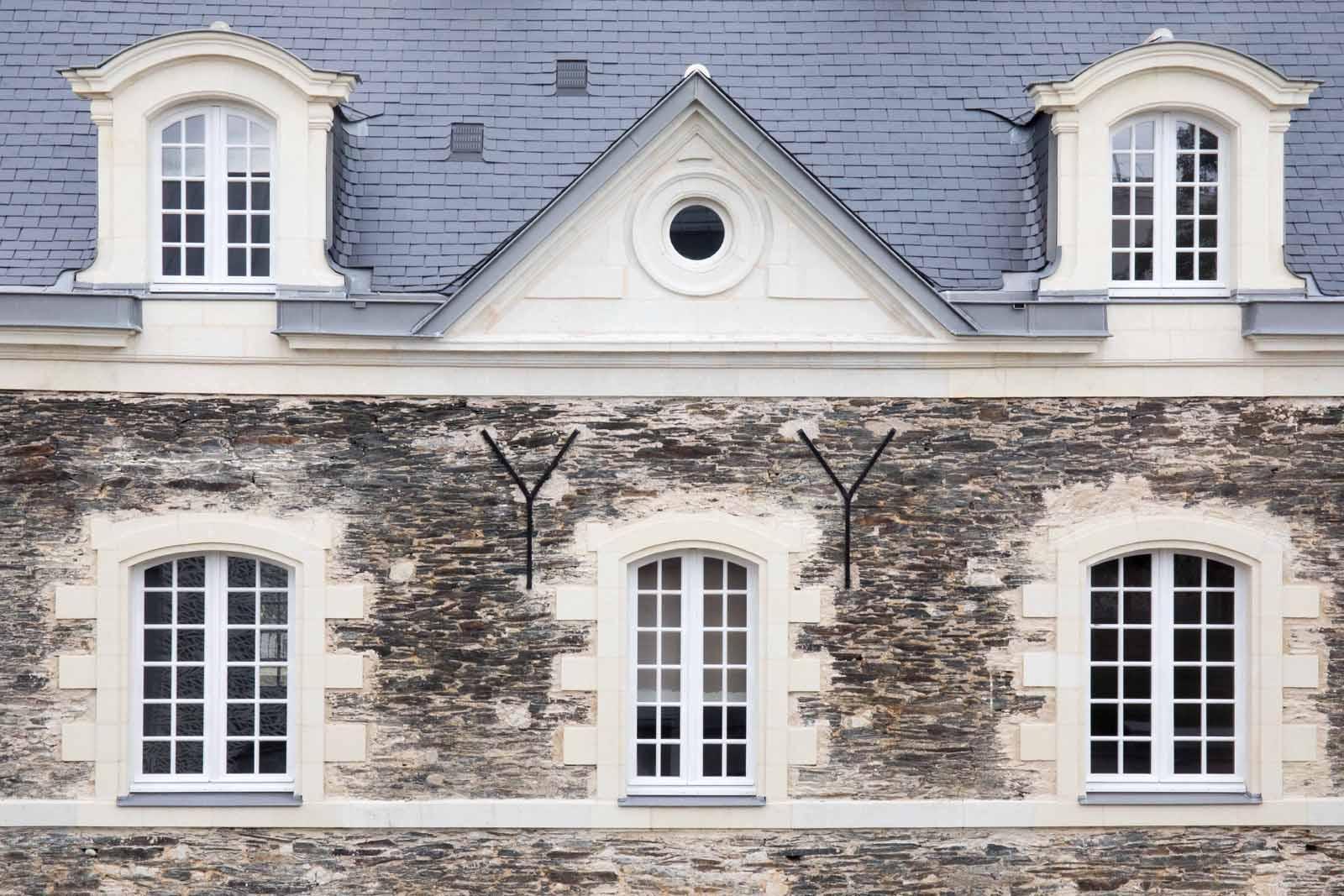 Fenêtres d'un établissement scolaire - Maine et Loire